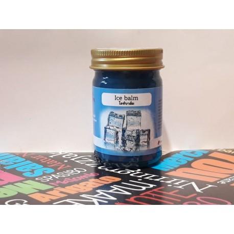Синий охлаждающий бальзам для массажа Blue Balm 50мл