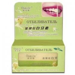 """Отбеливатель для зубов (с Цветами жимолости) """"Oumile"""", 56 г."""